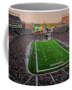 Elevated View Of Gillette Stadium, Home Coffee Mug