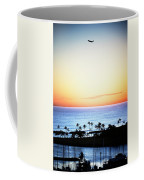 Elevated View Of The Sunset Coffee Mug