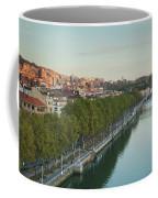 Elevated View Of The Zubizuri Bridge Coffee Mug
