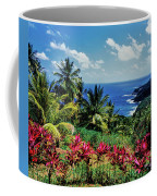 Elevated View Of Trees And Plants Coffee Mug