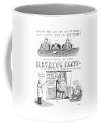 Elevator Pants Coffee Mug