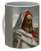 Eliezer Of Damascus Coffee Mug by William Dyce