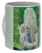 Elizabeth South And Ginger Coffee Mug