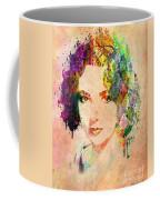 Elizabeth Taylor Coffee Mug by Mark Ashkenazi