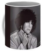 Elizabeth Taylor Coffee Mug by Paul Meijering