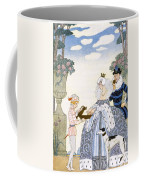 Elizabethan England Coffee Mug by Georges Barbier