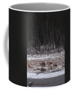 Elk Landscape Coffee Mug