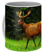 Elk Portrait Coffee Mug