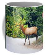 Elk Right Of Way Coffee Mug