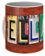 Ella License Plate Name Sign Fun Kid Room Decor. Coffee Mug