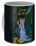 Ella Rose-courage Lights The Way Coffee Mug