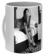 Raquel Bw Palm Springs Coffee Mug