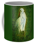 Ellie Egret Coffee Mug by Adele Moscaritolo