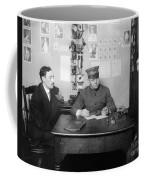 Ellis Island: Testing, C1914 Coffee Mug