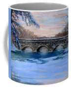 Elm Street Bridge On A Winter's Morn Coffee Mug