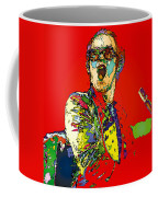 Elton In Red Coffee Mug