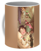Elves Delivering Christmas Gifts Coffee Mug