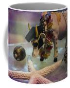 Elvis In Blue Hawaii Coffee Mug