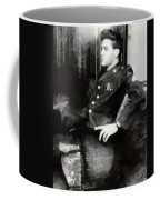 Elvis In Uniform Coffee Mug