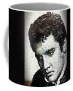 Elvis Love Me Tender Mosaic Coffee Mug