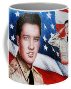 Elvis Patriot  Coffee Mug