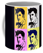 Elvis Pop X Four Coffee Mug