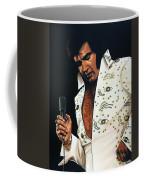 Elvis Presley Painting Coffee Mug