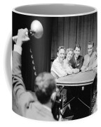Elvis Presley Photographed With Fans 1956 Coffee Mug