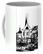 Emauzy - Benedictine Monastery Coffee Mug by Michal Boubin