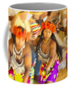 Embera Villagers In Panama Coffee Mug