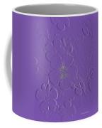 Embossed Bouquet  Coffee Mug