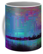 Emerald City Skyline Cubed Coffee Mug