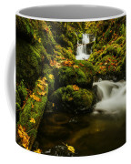 Emerald Falls In Columbia River Gorge Oregon Usa Coffee Mug