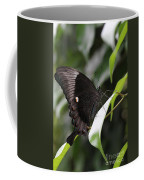 Emerald Peacock Swallowtail Butterfly #6 Coffee Mug