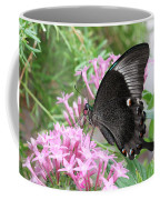 Emerald Peacock Swallowtail Butterfly #5 Coffee Mug