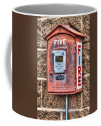 Emergency Fire Box Coffee Mug