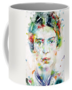 Emily Dickinson - Watercolor Portrait Coffee Mug