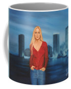 Emily  Miami Skyline Coffee Mug