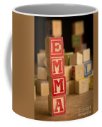 Emma - Alphabet Blocks Coffee Mug
