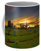 Emmett Cemetery Coffee Mug by Robert Bales
