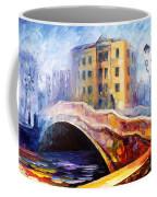 Emotional Autumn - Palette Knife Oil Painting On Canvas By Leonid Afremov Coffee Mug