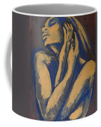 Emotional - Female Nude Portrait Coffee Mug