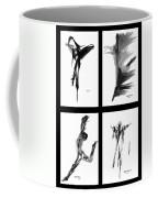 Emotions In Black - Abstract Quad Coffee Mug