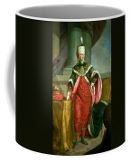Emperor Francis I 1708-65 Holy Roman Emperor, Wearing The Official Robes Of The Order Of St. Stephan Coffee Mug