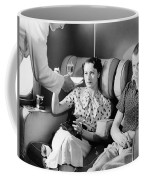 Empire Flying Boat Lounge Coffee Mug by Underwood Archives
