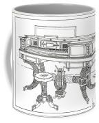 Empire Period Piano 1820 Coffee Mug