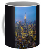 Empire State Building And Midtown Manhattan Coffee Mug