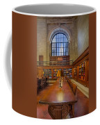 Empire State View From The Nypl Coffee Mug