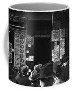 Employment Agency, 1937 Coffee Mug