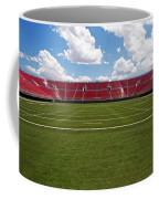 Empty American Football Stadium Coffee Mug